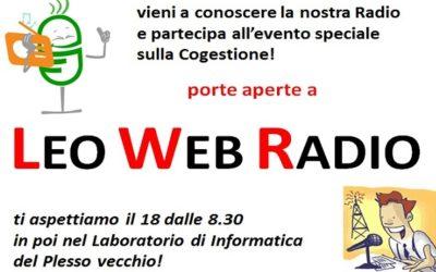Porte aperte a Leo Web Radio