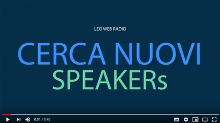 Leo Web Radio, vieni a fare radio con noi!